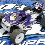 Tessman's DT8 truggy is more on the tame side with just a handful of one off goodies like shocktowers and new geometery.