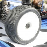 Pro-Line Racing's new Blockade VTR tires debuted in a big way. Ty Tessman used them all weekend and won the Final. As you can see there is still a lot of tread left on the tires after a very tough 45 minute race!