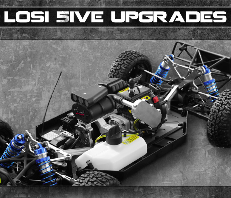 LOSI 5IVE Upgrades & Facebook Giveaway