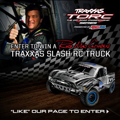 TORC Series Contest [Win A Rob MacCachren Edition Traxxas Slash]