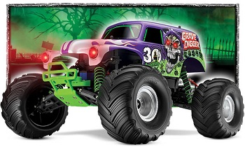 Traxxas 30th Anniversary Grave Digger RTR Monster Jam Truck
