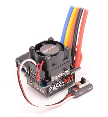 Core RC Pace 45R Brushless ESC