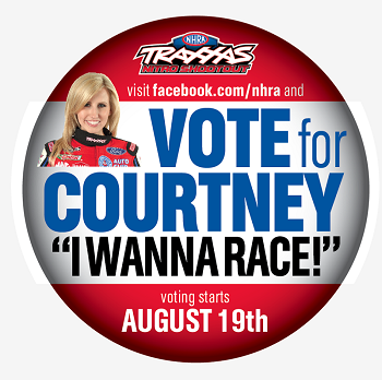 """I Wanna Race!"" Campaign Launched To Add Courtney Force To The Traxxas Shootout"