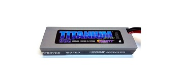 Trinity Titanium Racing LiPo Battery Packs