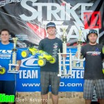 Intermediate Truggy Winners - Dane Jackson 2nd, Tyler Brown 1st, Andy Carrillo 3rd