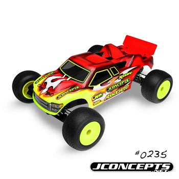 JConcepts Illuzion T4.1 And 22T Finnisher Body, Pressure Points For Stadium Truck