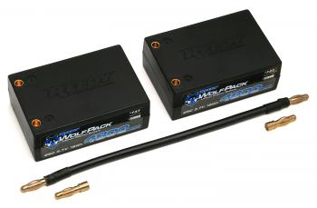 Reedy WolfPack Shorty And Saddle 7.4V LiPo Batteries