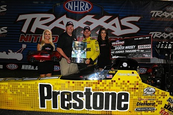 Spencer Massey Wins The Top Fuel Traxxas Nitro Shootout