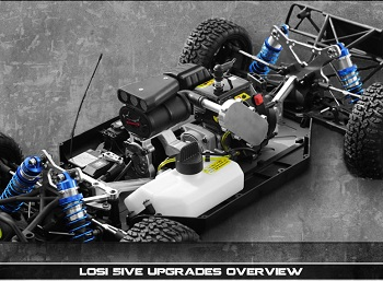 RB Innovations New Products For The Losi 5IVE
