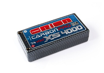Orion Carbon Pro XS 4000mAh 90C 7.4v Shorty LiPo