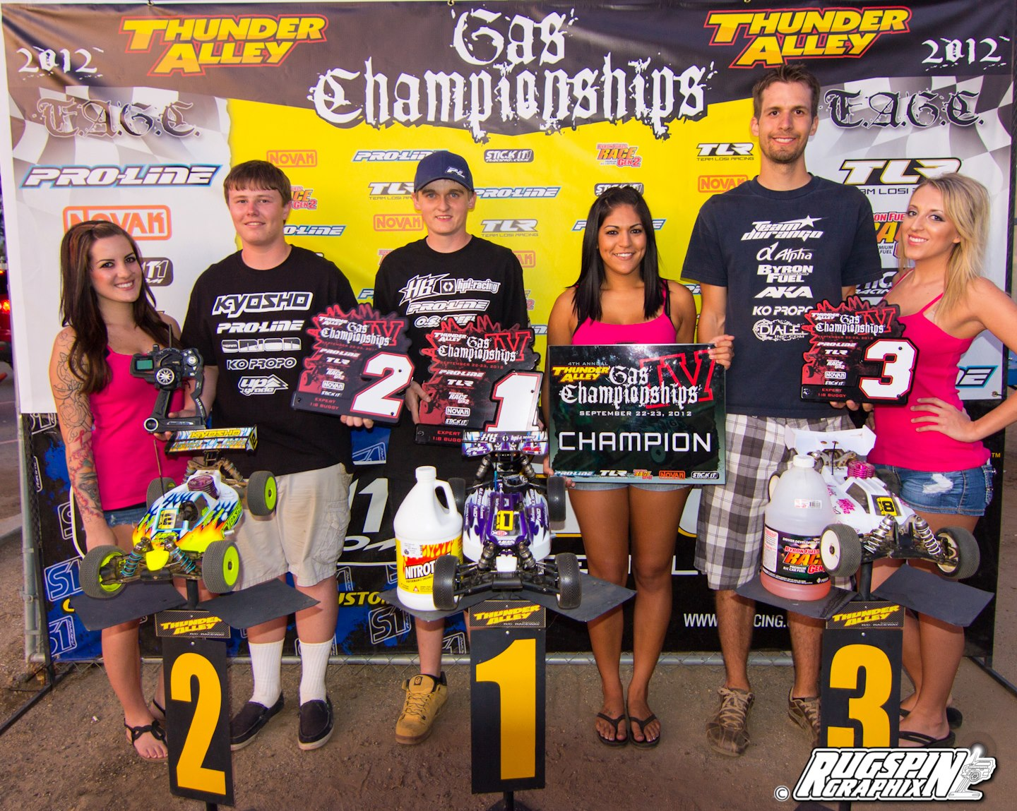 Pro-Line's Ty Tessman Double Win Domination of Gas Champs