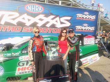 John Force Wins Inaugural Traxxas Nitro Shootout Funny Car Race