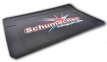 Schumacher Pit Mat, Cougar SV2 Cab Forward Body, & CAT SX3 Ackerman Steering Mod