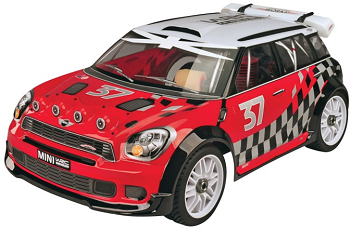 Thunder Tiger RTR 1/8 Nitro WRC Mini Countryman