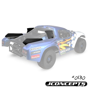 JConcepts Champion Name And Number Plate Winglets For The Hi-Flow SCT Body