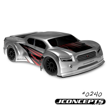 JConcepts Scalpel Speed-Run Body And Front Bumper Conversion Kit For The Traxxas 4×4 Slash