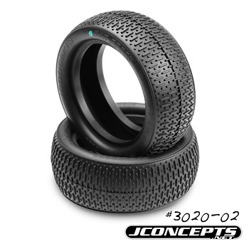 JConcepts Now Offers Bar Codes In Green Compound For 4WD Fronts And F/R 2.2″ Truck Tires