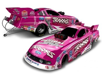 Courtney Force And Traxxas To Run Pink Breast Cancer Awareness Car At Reading