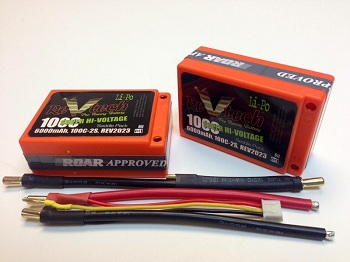 Trinity 100C ReVtech Saddle LiPo Battery Pack
