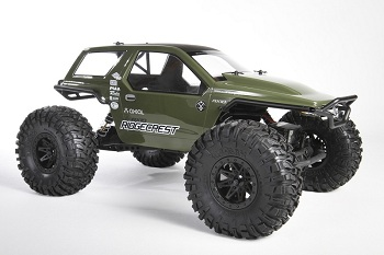 Axial EXO Option Parts And AX10 Ridgecrest Body