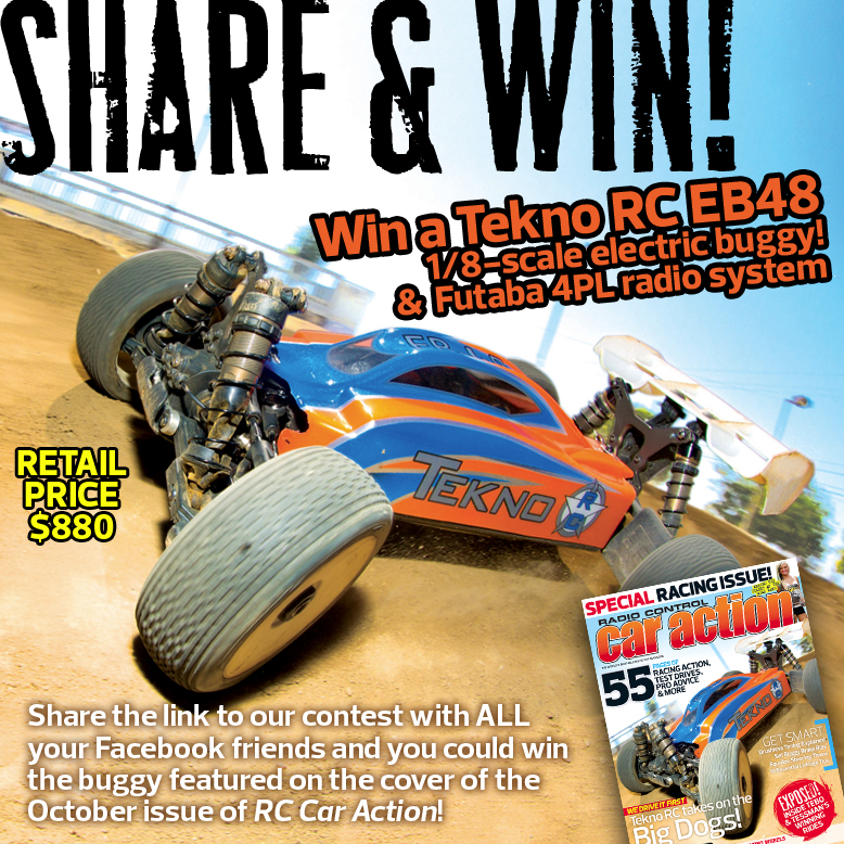 Share & Win Giveaway [Win a Tekno RC EB48!]