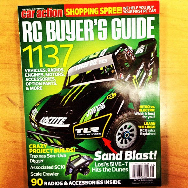 RC Car Action Buyer's Guide 2013 available now