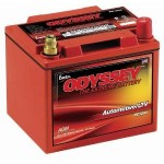 36 of these Odyssey batteries are used to power Bigfoot 20. 30 for the motor and 6 to power the brakes and other needs. for brakes
