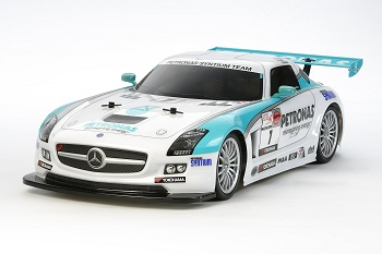 Tamiya Petronas Syntium Mercedes-Benz SLS AMG GT3 (TT-01 Type-E)