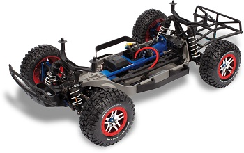 Traxxas Slash 4X4 Platinum Edition With Low-CG Chassis And Hard-Anodized GTR Aluminum Shocks