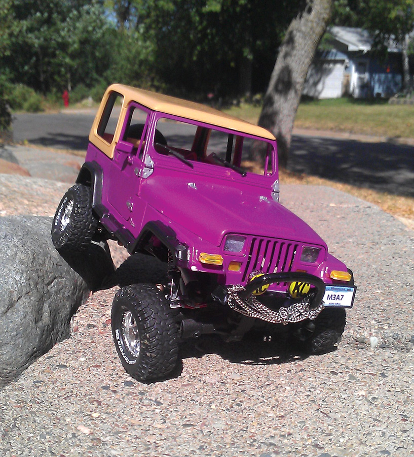 Readers' Ride: Losi Micro Crawler [January 2013]