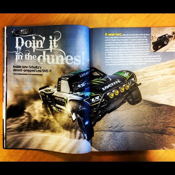 Doin' it in the dunes [RC Buyer's Guide Preview]