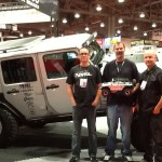 Team Axial was on hand to show off their new SCX10 Jeep Wrangler Unlimited Rubicon