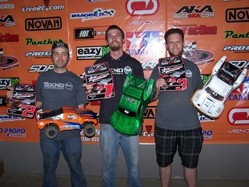 Tekno RC 4×4 SCT Sweeps Podium