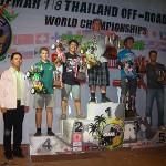 The top five finishers from the 2010 IFMAR Worlds in Thailand.