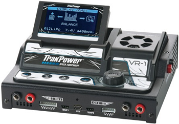 TrakPower VR-1 Dual Racing Charger And DPS 12V 25A Racing Power Supply