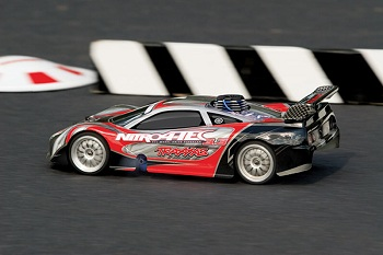 Traxxas Nitro 4-Tec 3.3 Updated With Docking Base And Telemetry Sensors