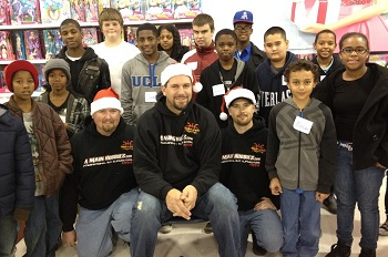BMiller Racing's Brad Miller Hosts Christmas Shopping Spree For Big Brothers Big Sisters