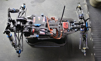 Spotted: X Factory's New X-60CF Conversion Kit For The Team Associated T4.1