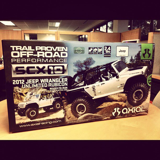 RC Car Action's Axial SCX10 RTR Facebook Giveaway