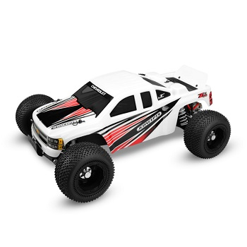 JConcepts Illuzion 2012 Chevy 1500 Silverado Rustler XL 5 Body And Traxxas Rally Slash