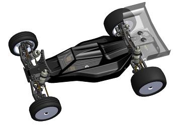 Serpent Spyder SRX-2 1/10 2WD Buggy