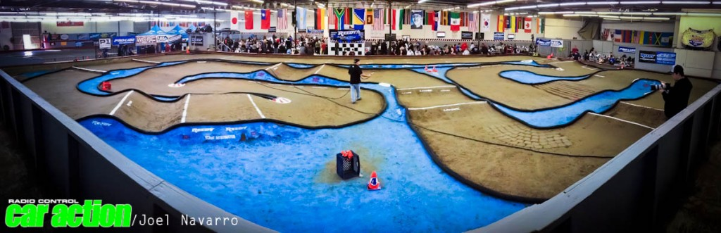 Associated's Brent Thielke had a vision of a track, and his vision was this years Reedy Race layout.