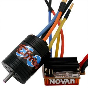 Novak Micro Pro Brushless ESC And 8.5T Brushless Motor Combo