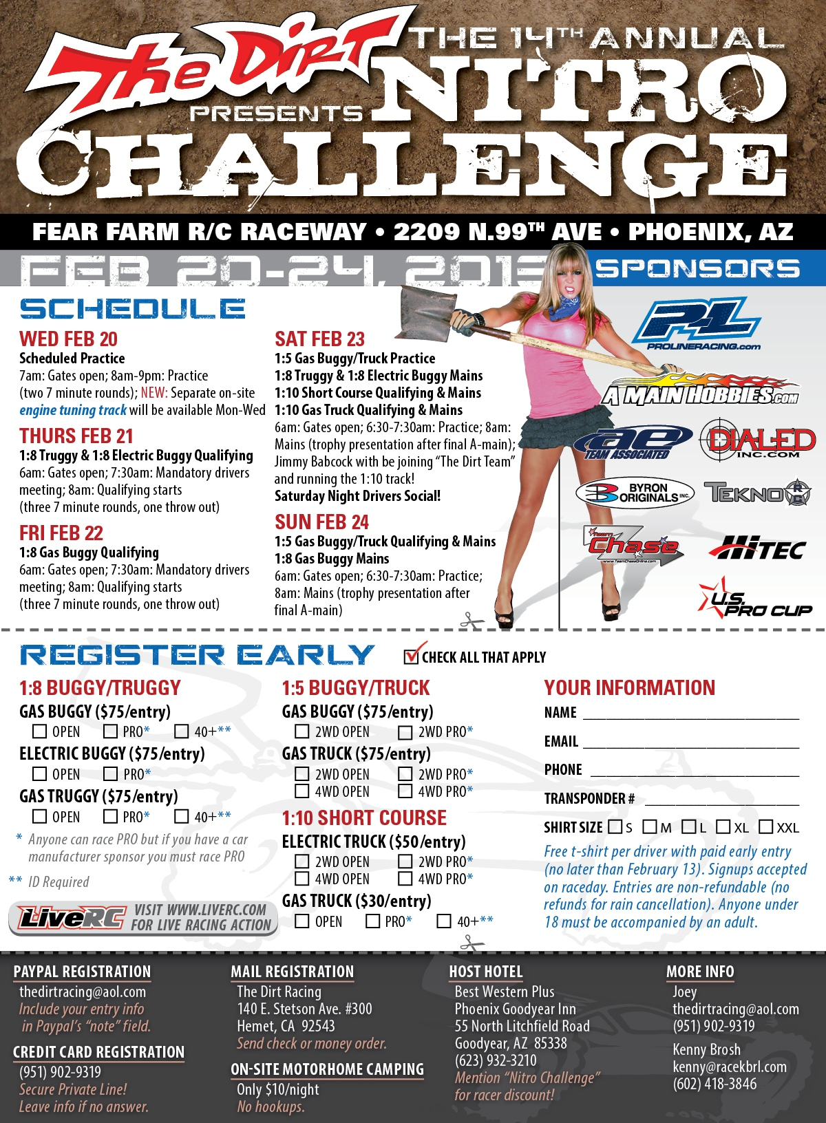 The Dirt Presents the 14th Annual Nitro Challenge