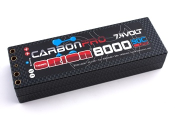 Orion Double Connector Hardcase LiPo Battery