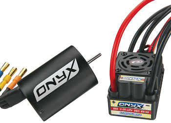 Duratrax 1/10 And 1/8 Onyx Brushless Systems