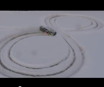 1/8 HPI KenBlock WR8 RC – Snow Rally [Video of the week]