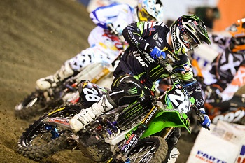Traxxas Rider Tyla Rattray Moves Up In Points At Anaheim 2 Supercross