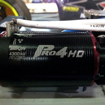 Spotted: Prototype Tekin Pro4 HD Brushless Motor