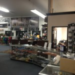 The hobby shop feeds into the pit area; racers have everything they could want at a wallet's reach!